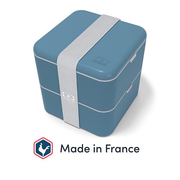 monbento - Bento carré MB Square Made in France Denim 1,7L
