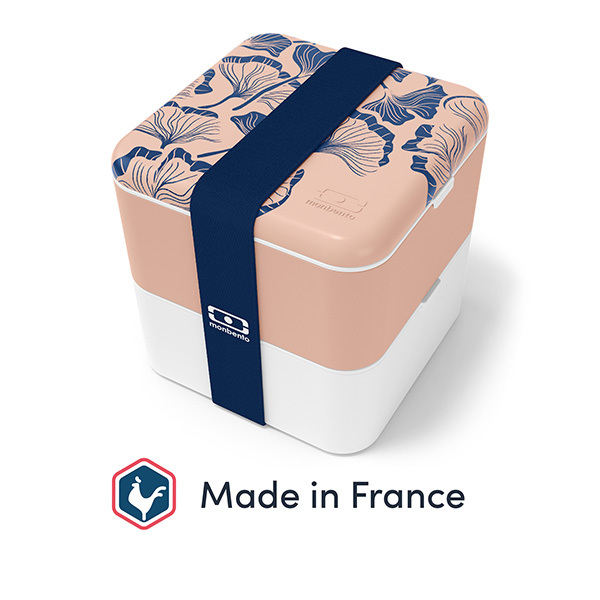 monbento - Bento carré MB Square Made in France Ginkgo 1,7L