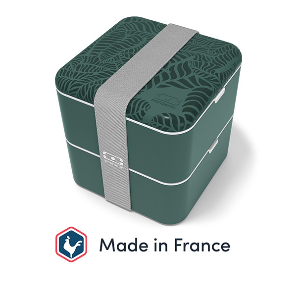 monbento - Bento carré MB Square Made in France Jungle 1,7L
