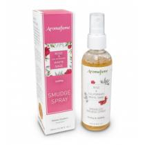 "Aromafume - Parfum d'ambiance en Spray ""Rose et Sauge blanche de Californie"""