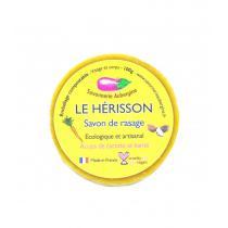 "Savonnerie Aubergine - Savon à raser solide ""Le hérisson""- 100 G"