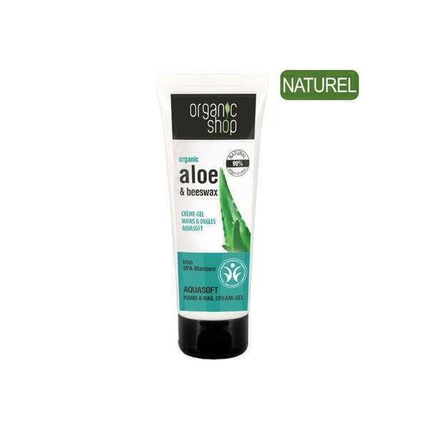 Organic Shop - Crème Mains et Ongles Aloe Vera