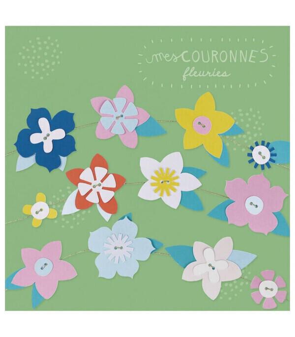Pirouette cacahouete - Kit créatif Mes couronnes de fleurs à créer