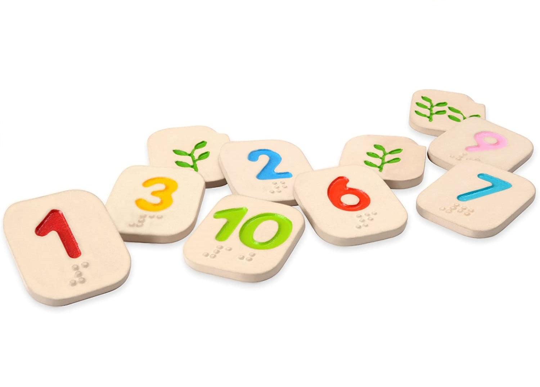 Plan Toys - Apprendre les chiffres en braille