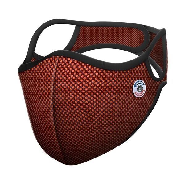 Frogmask - Masque anti-pollution FFP2 orange taille XL (homme >1m80)