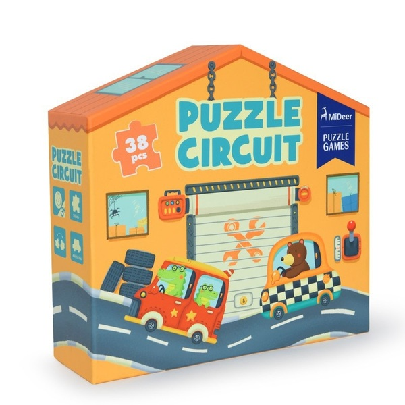 Mideer - Coffret circuit en puzzle