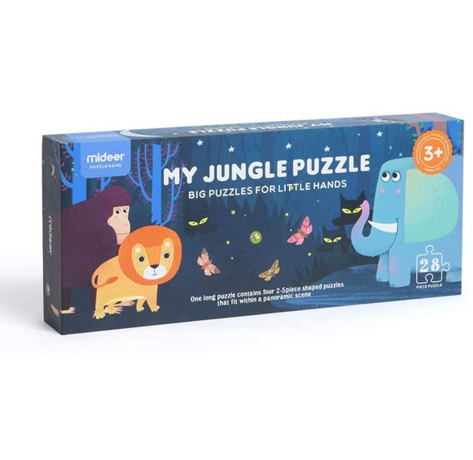 Mideer - Puzzle géant de sol Jungle