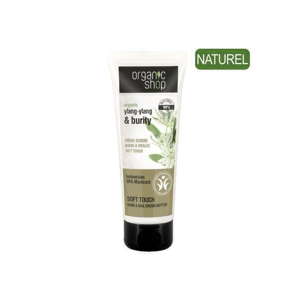 Organic Shop - Créme Mains et Ongles Ylang-Ylang
