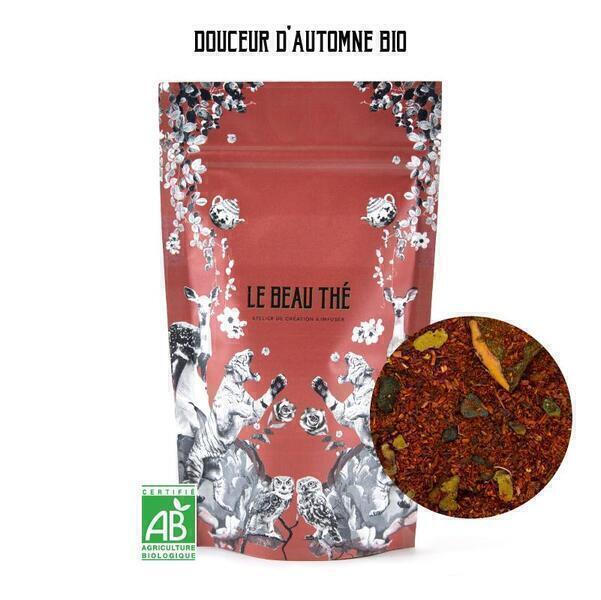 Le Beau Thé - Rooibos aromatisé saveur pomme et noix 70g