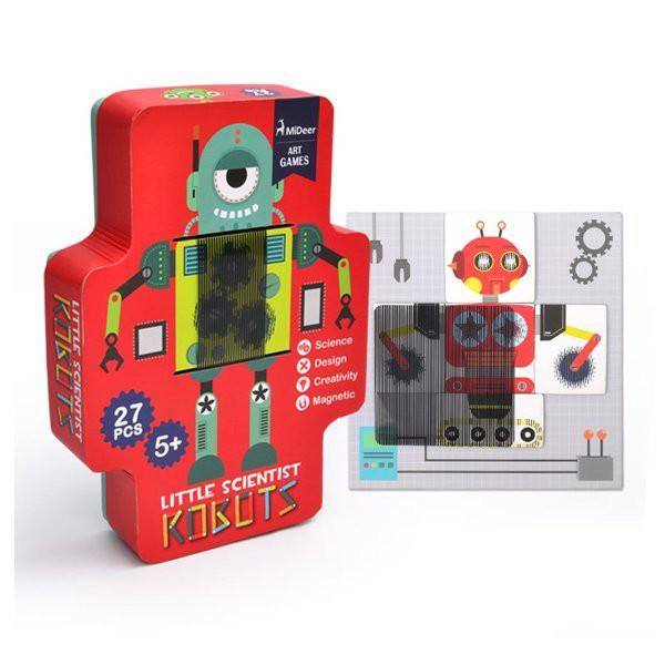 Mideer - Jeu d'animation 3D robot magnétique