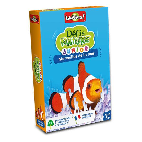 Bioviva - Défis Nature Junior - Merveilles de la mer - Dès 5 ans