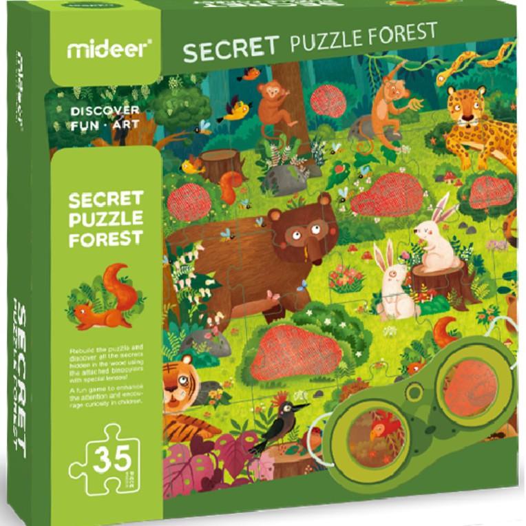 Mideer - Puzzle détective Forêt