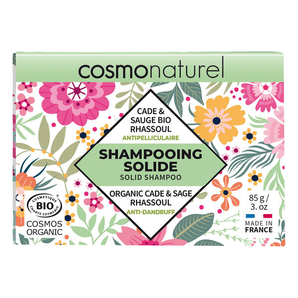 Cosmo Naturel - Shampoing solide anti-pelliculaire 85g