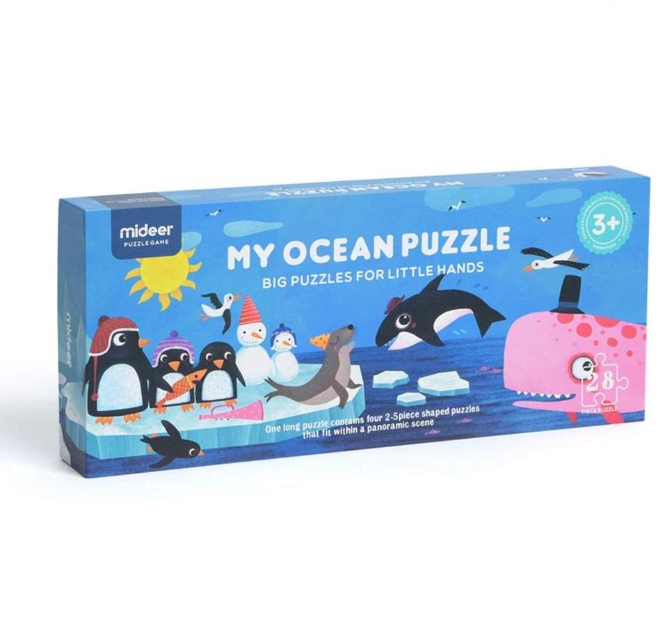 Mideer - Puzzle géant de sol Océan