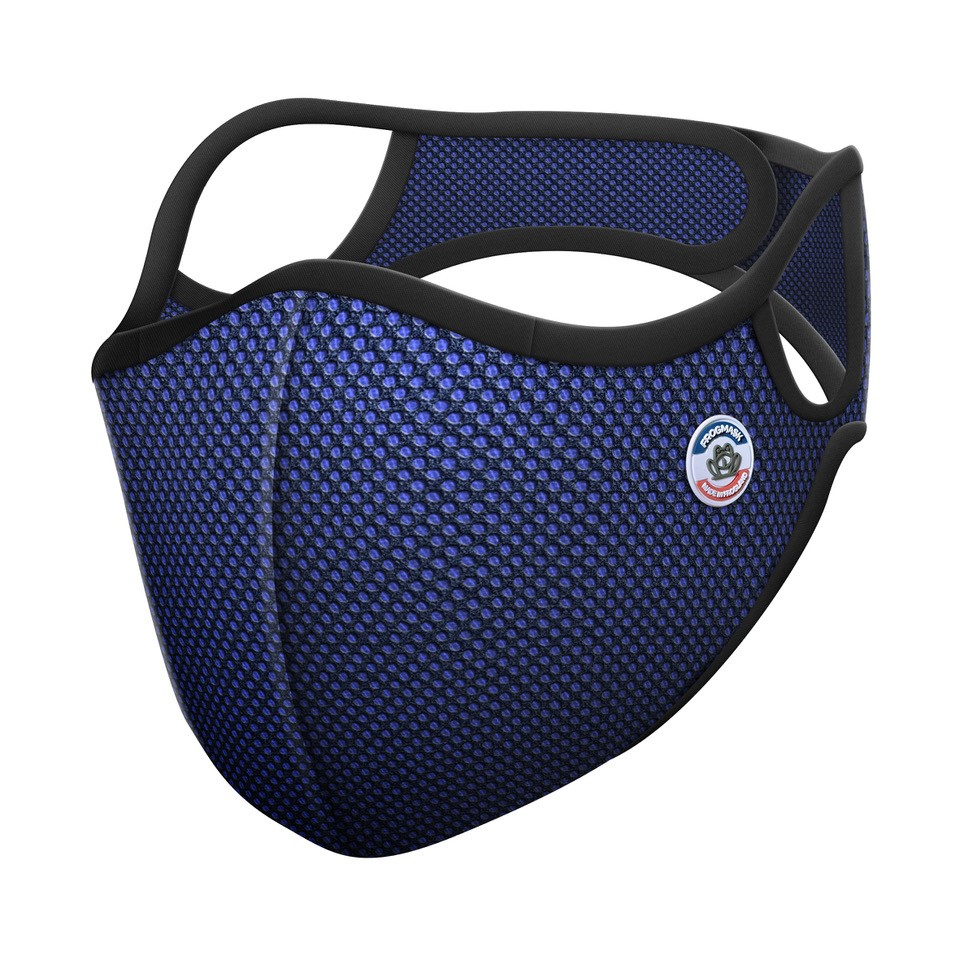 Frogmask - Masque anti-pollution FFP2 bleu taille L (homme