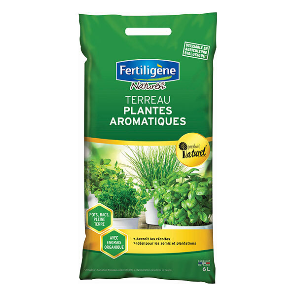 Fertiligene Naturen - Terreau Plantes Aromatiques UAB 6L