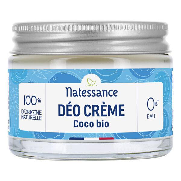 Natessance - Déo crème coco bio 50g