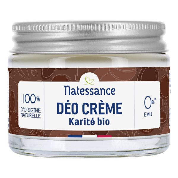 Natessance - Déo crème karité bio 50g