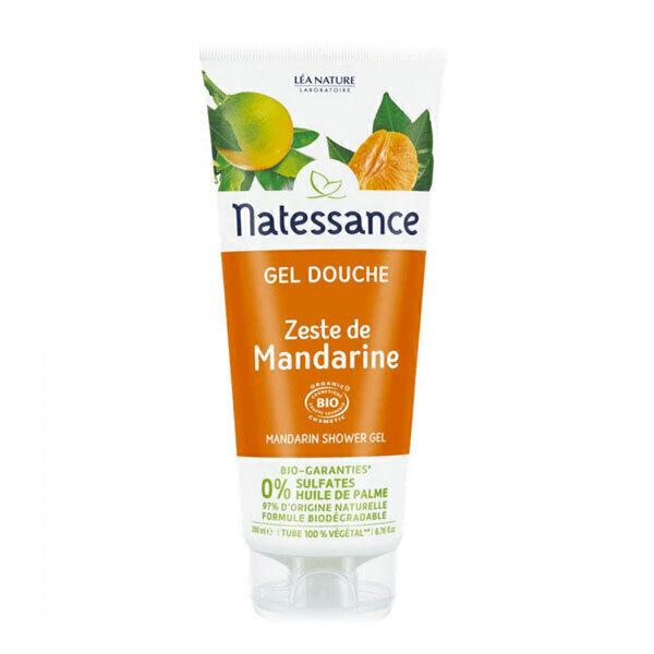 Natessance - Gel douche zeste de mandarine 200ml