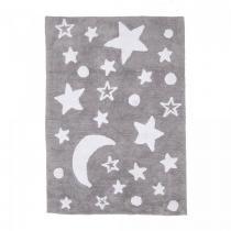 Un amour de tapis - Tapis enfant - GOOD NIGHT 100% BIO - Gris - 120x170