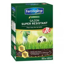 Fertiligène - Gazon super résistant Label Rouge 40m² - 1kg