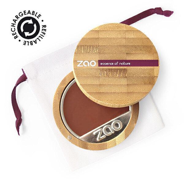 Zao MakeUp - Fond de teint compact 740 Acajou sombre
