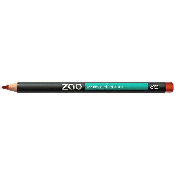 Zao MakeUp - Crayon 610 Rouge cuivré