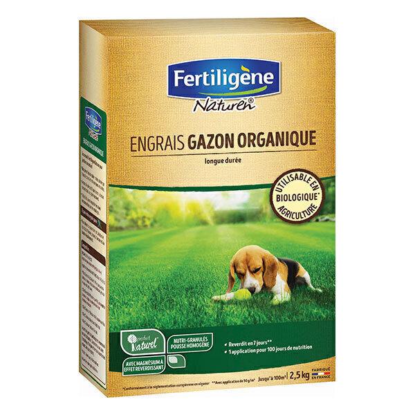 Fertiligene Naturen - Engrais gazon organique UAB 100m² - 2,5 kg