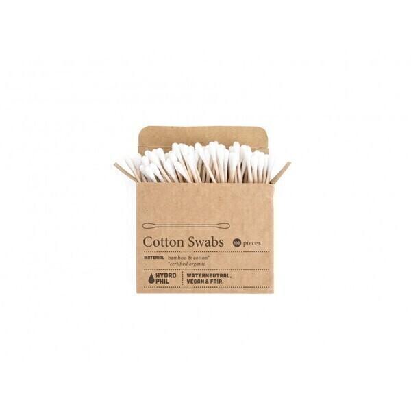 Hydrophil - Bâtonnets ouatés en bambou et coton