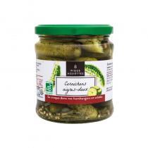 Pique Assiettes - Cornichons aigres-doux Bio 37cl