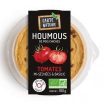 Carte Nature - Houmous tomates mi-séchées basilic 160g