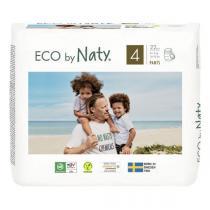 Eco by Naty - Pack de 4 x 22 Culottes d'apprentissage - T4, 8-15 kg