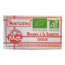 Montsurs - Beurre doux 250g
