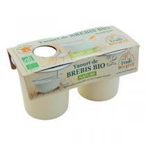 TRADI BERGERE - Yaourt brebis nature au lait entier 2x125g