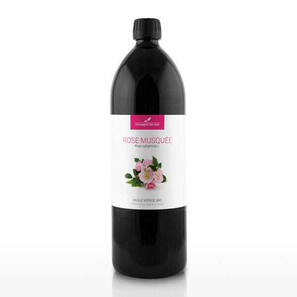 Compagnie des Sens - Rose Musquée du Chili - Huile Végétale Vierge BIO  - 1L