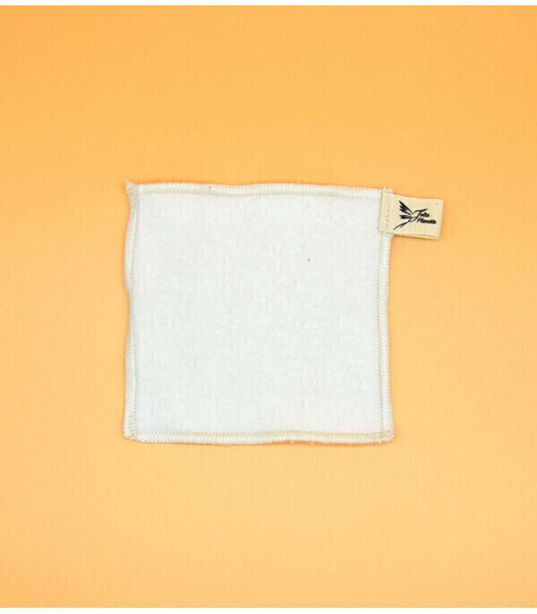 Jolie Planète - Coton démaquillant lavable, 100% coton biologique