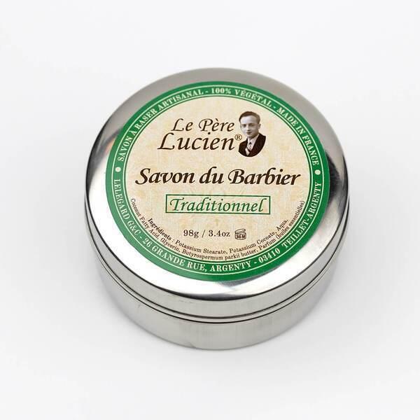 Le pére Lucien - Savon à barbe Traditionnel - 98g