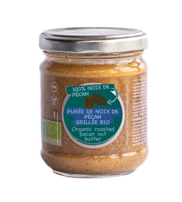 Tartines & Oléa - Pâte à tartiner 100% noix de pécan bio grillée (180g)