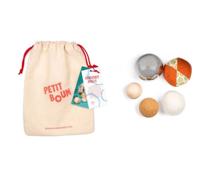 Petit Boum - Balles sensorielles
