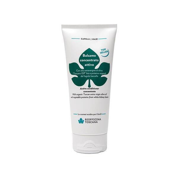 Biofficina Toscana - BIOFFICINA TOSCANA Après-Shampoing Revitalisant, 200 ml