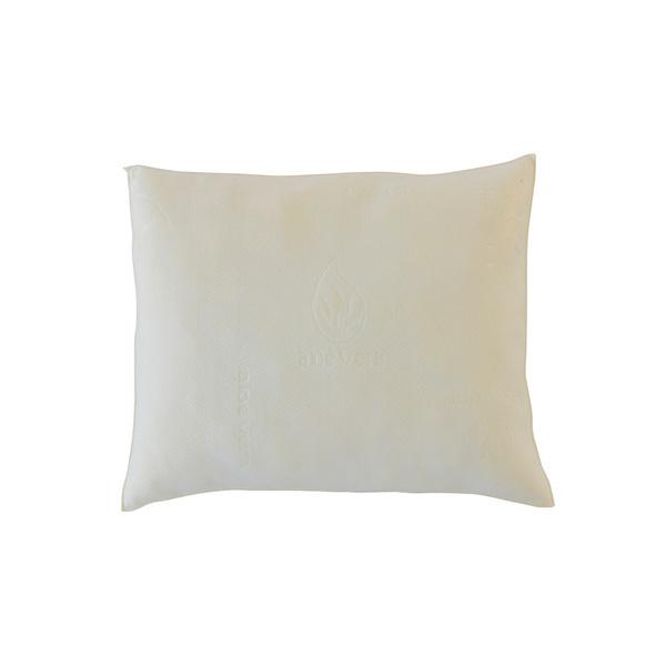 Olympe Literie - Lot de 2 oreillers Aloe Vera 60x60cm | Mémoire de formes