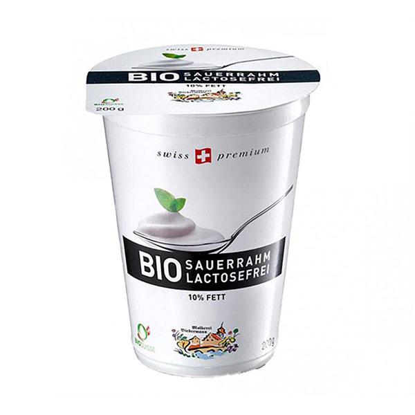 BIEDERMANN - Crème fraîche légère 10%MG sans lactose 200g