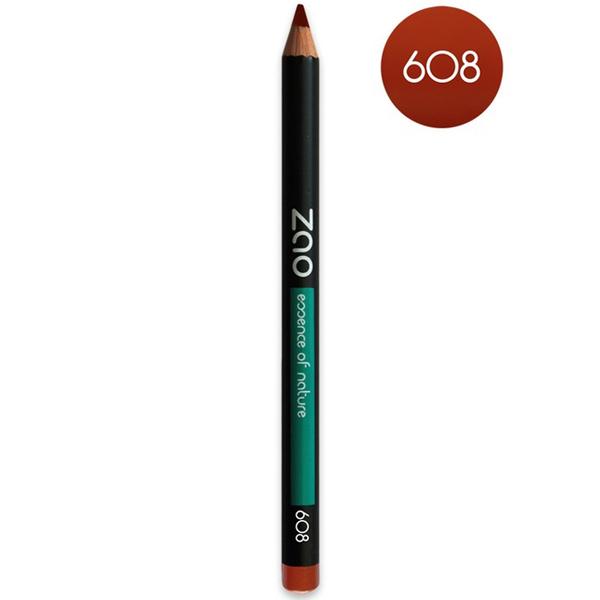 Zao MakeUp - Crayon Brun Orange