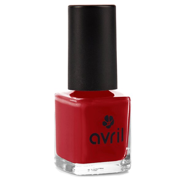 Avril - AVRIL Vernis à Ongles Rouge Opéra, 7 ml