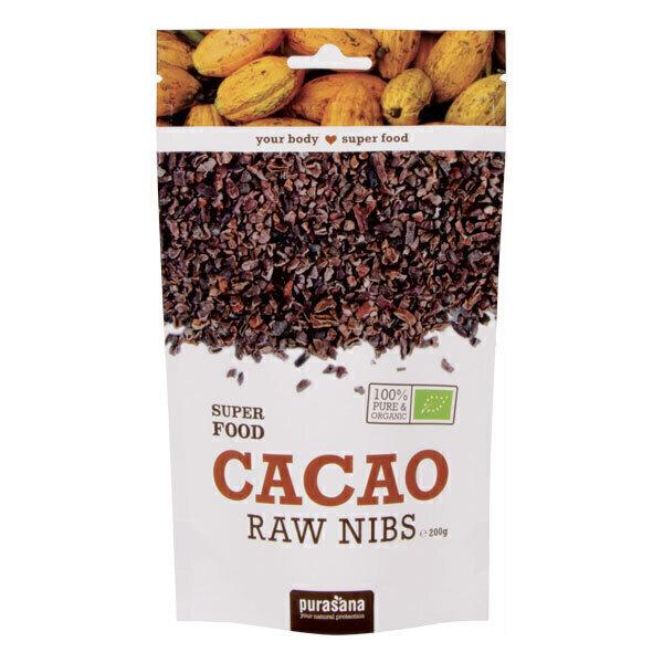 Purasana - Eclats de fèves de cacao caramélisées 200g