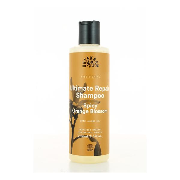 Urtekram - Shampoing cheveux abîmés à la fleur d'oranger 250ml