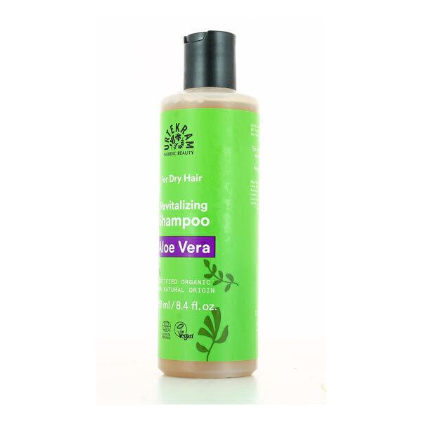 Urtekram - Shampoing revitalisant cheveux secs à l'aloe vera 250ml