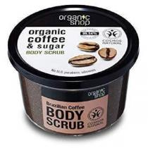 Organic Shop - Gommage Corps - Coffee and Sugar