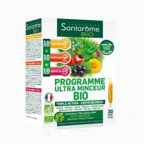 Santarome - Programme Ultra Minceur Bio 30 ampoules (30x10ml)