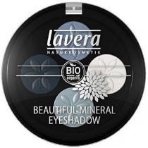 Lavera - Fard à paupières - Quattro- Blue Platinum 07